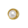 Picture of Studex® 12 Pairs (Dozen pack) 24ct Gold Plated Pearl Bezel Regular: DZ-R301Y