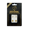 Picture of Studex® Select™ 24ct Gold Plated Crystals Bezel AB Crystal Large: PR-L215Y-STX