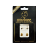 Picture of Studex® Select™ 24ct Gold Plated Crystals Bezel September Sapphire Regular: PR-R209Y-STX