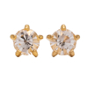 Picture of Studex® Select™ 24ct Gold Plated Crystals Tiffany April Crystal Mini: PR-M104Y-STX