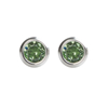 Picture of Studex® Select™ Stainless Steel Crystals Bezel August Peridot Crystal Regular: PR-R208W-STX