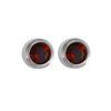 Picture of Studex® Select™ Stainless Steel Crystals Bezel January Garnet Regular: PR-R201W-STX