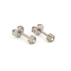 Picture of Studex® Select™ Stainless Steel Heartlite Regular: PR-R502W-4-STX