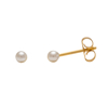 Picture of Studex® Sensitive™ 24ct Gold Plated 3mm White Pearl: S673STX